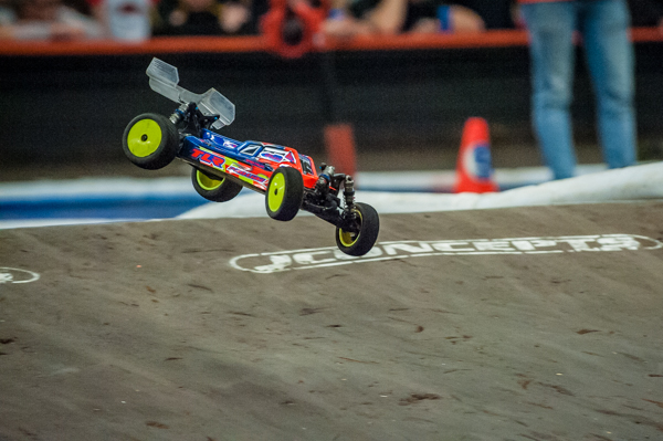TLR's Dakoth Phend erased any doubts by taking his first Reedy Race of Champions title.
