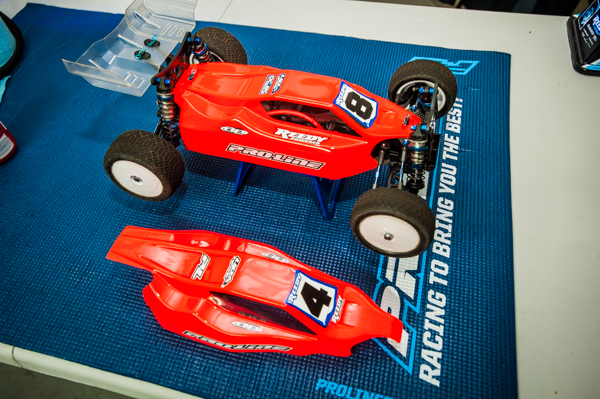 Pro-Line is also premiering their new Predator body for the Team Associated B44.3.