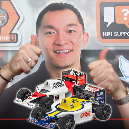 HPI's Barry Is Our New Favorite Driver (and the Q32 F1 Cars Looks Like a Lot of Fun) – VIDEO