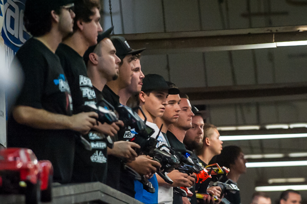 At big events, you'll usually only see factory drivers in the a-mains of the modified classes.