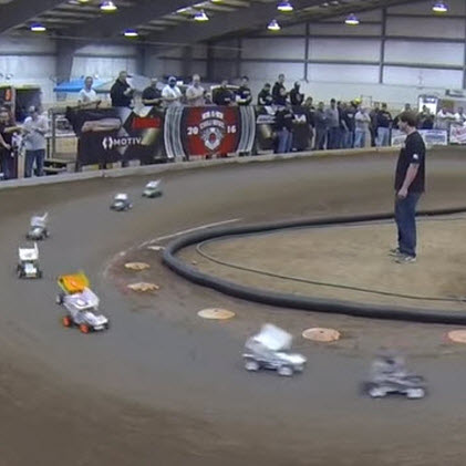 Goin' Fast & Turnin' Left at the RC Chili Bowl [VIDEO]