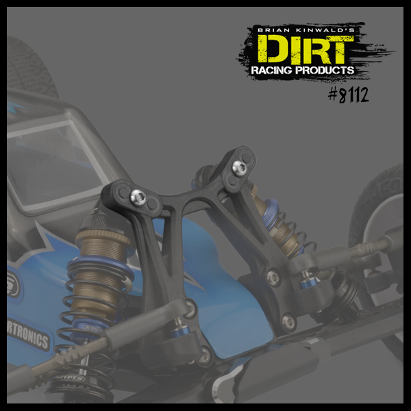Dirt Racing Products Shock Tower Hole Plugs (3)