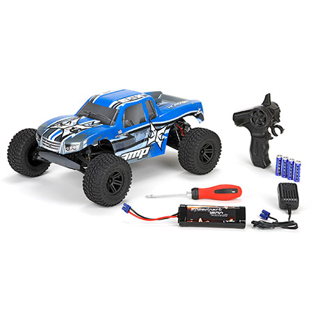 ECX AMP 1_10 2WD Monster Truck BTD (Build-To-Drive) Kit  (3)