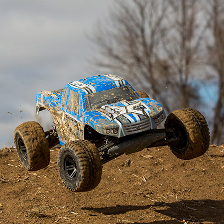 ECX AMP 1_10 2WD Monster Truck BTD (Build-To-Drive) Kit  (4)