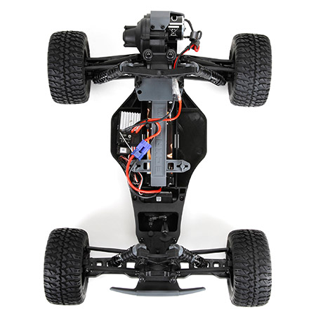 ECX AMP 1_10 2WD Monster Truck BTD (Build-To-Drive) Kit  (8)