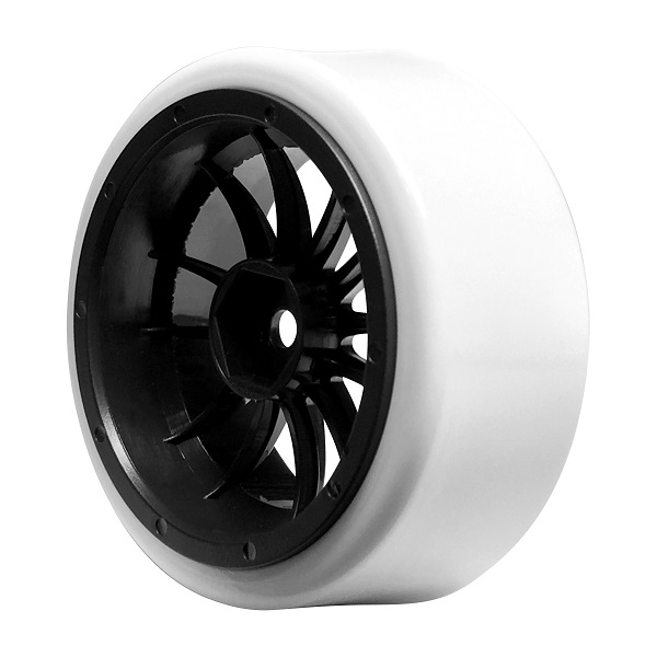 FireBrand RC Char-XDR Drift Wheels And Blizzard Tires  (5)