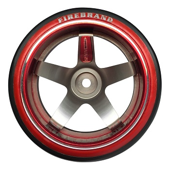 FireBrand RC HIGH FIVE-D2M Aluminum Wheels