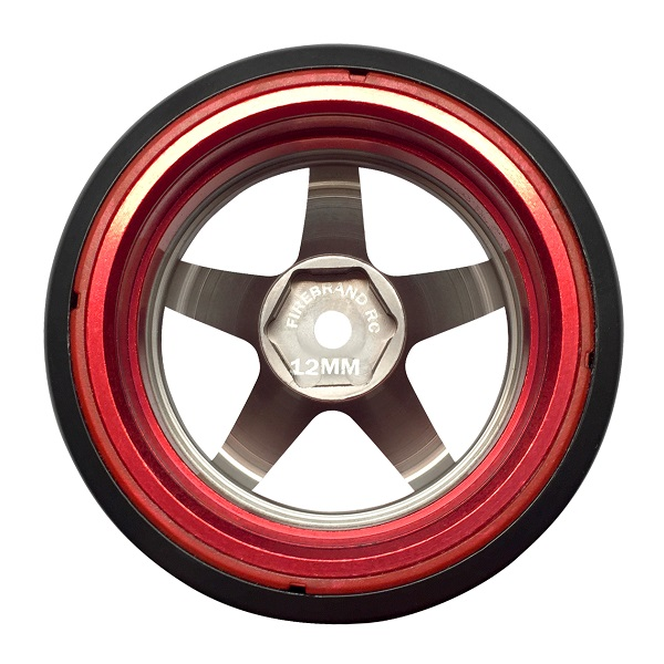 FireBrand RC HIGH FIVE-D2M Aluminum Wheels (5)