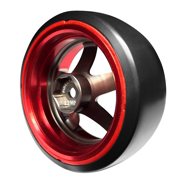 FireBrand RC HIGH FIVE-D2M Aluminum Wheels (6)