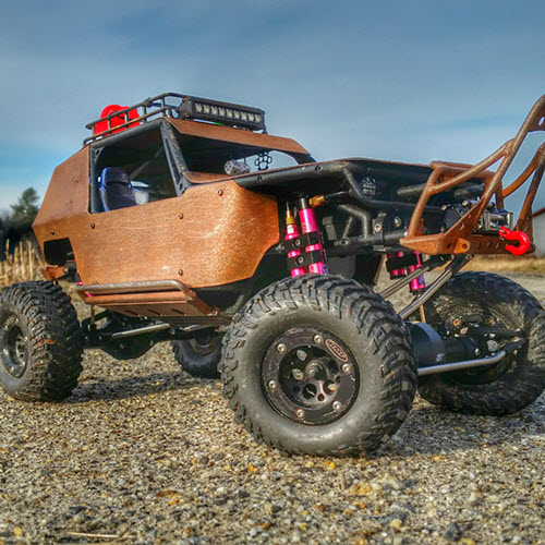 Axial Snow Wraith by Aaron Bailey [READER'S RIDE]