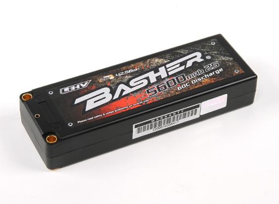 HobbyKing Basher 2S2P Hardcase LiHV Packs (3)