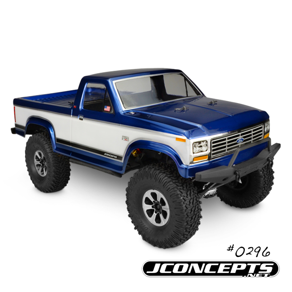 JConcepts 1984 Ford F-150 Trail And Scaler Body (2)