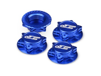 JConcepts Fin 1/8 Serrated Light-Weight Wheel Nuts