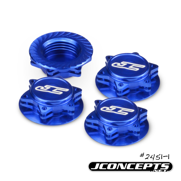 JConcepts Fin 1_8 Serrated Light-Weight Wheel Nuts (3)