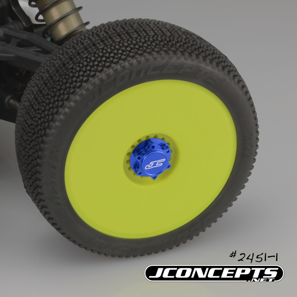 JConcepts Fin 1_8 Serrated Light-Weight Wheel Nuts (4)