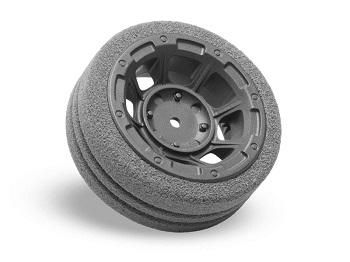 JConcepts Hazard Radio Wheel For The Sanwa M12 And Airtronics MT4