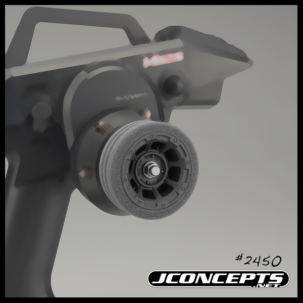 JConcepts Hazard Radio Wheel For The Sanwa M12 And Airtronics MT4 (2)
