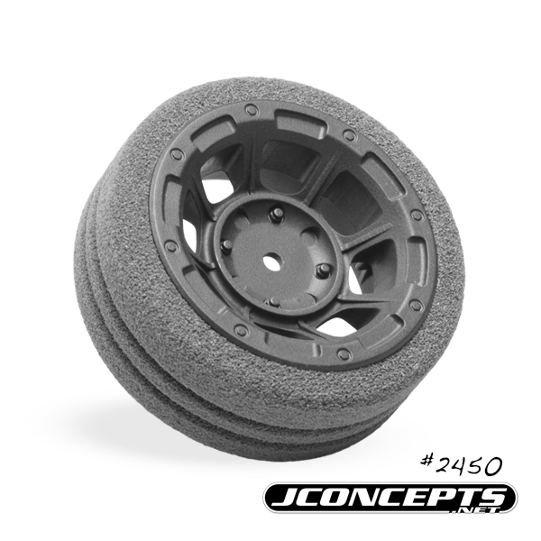 JConcepts Hazard Radio Wheel For The Sanwa M12 And Airtronics MT4 (3)
