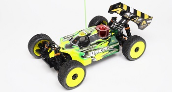 JQRacing White Edition LV 1/8 Nitro 4wd Buggy