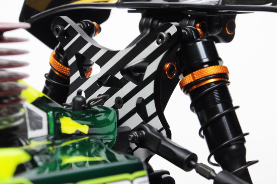 JQRacing White Edition LV 1_8 Nitro 4wd Buggy (6)