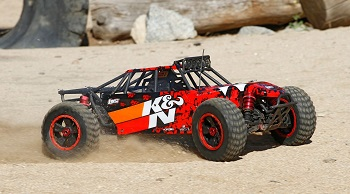 More K&N Action With Losi Desert Buggy XL [VIDEO]