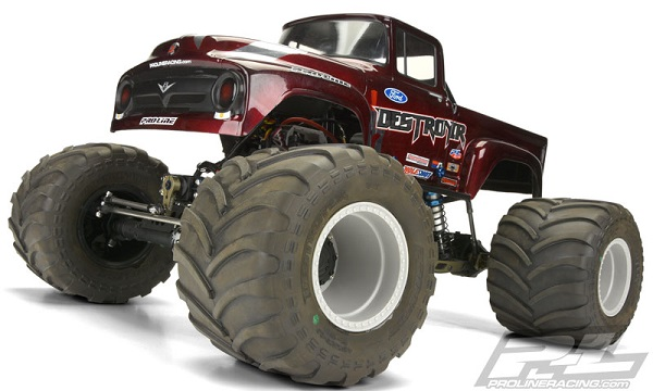 Pro-Line Brawler Clod Buster 2.6 Gray Wheel (Stock And +17.5mm Offset) (7)