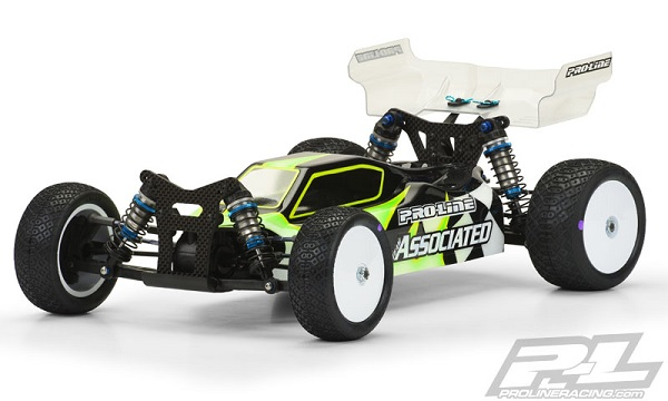 Pro-Line Predator Clear Body For The Team Associated B44.3 (1)