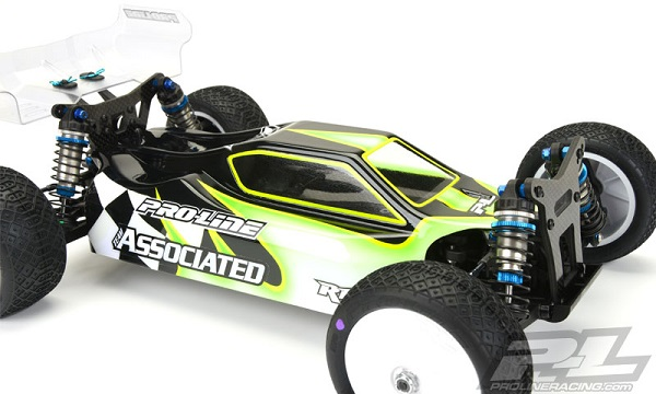 Pro-Line Predator Clear Body For The Team Associated B44.3 (4)