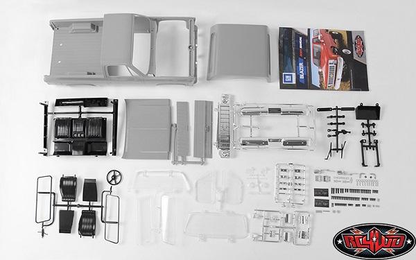 RC4WD Chevrolet Blazer Hard Body Complete Set (3)