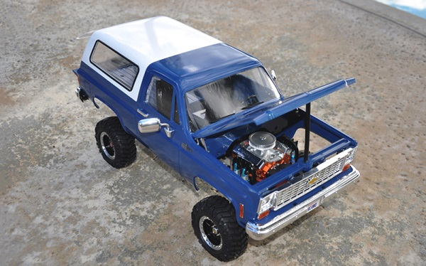 RC4WD Chevrolet Blazer Hard Body Complete Set (6)