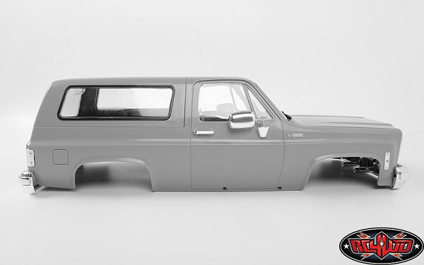 RC4WD Chevrolet Blazer Hard Body Complete Set (9)