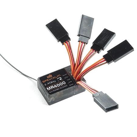 Spektrum SR4000T, SR6000T, SR2000, And MR4000 Recievers