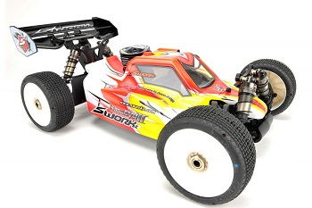 SWORKz S350 EVO II Limited Edition 1/8 Pro Buggy Kit- Brap!