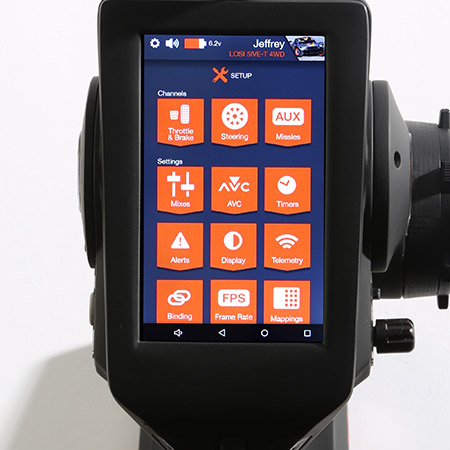 Spektrum DX6R Touch-Screen Radio