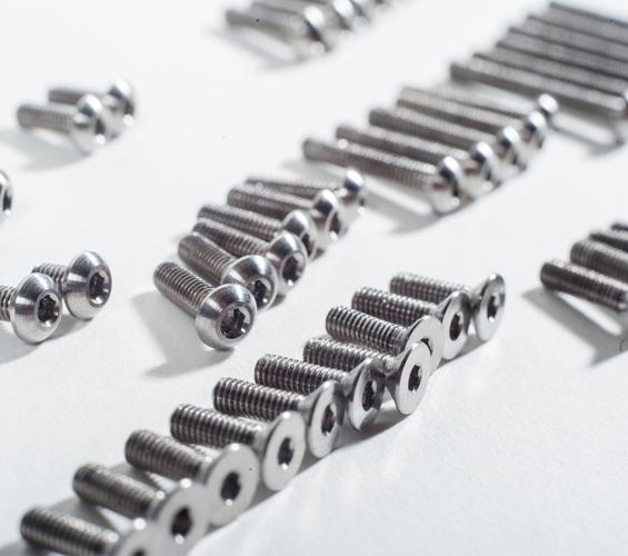 TLR 22 3.0 Titanium Upper Screw Set (2)
