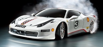 Tamiya 1/10 R/C Ferrari 458 Challenge (TT-02D) Drift Spec