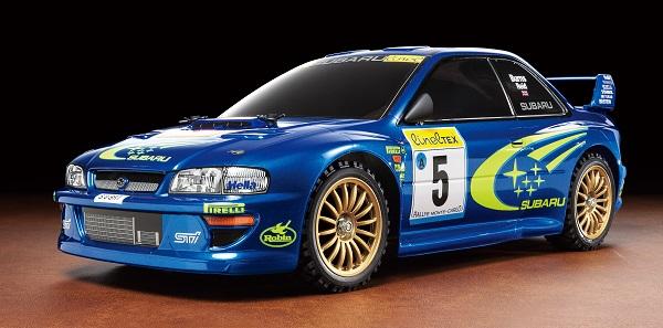 Tamiya 1_10 RC Subaru Impreza Monte-Carlo '99 (TT-02)