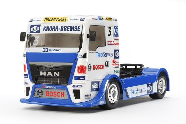 Tamiya 1_14 RC Team Hahn Racing MAN TGS (TT-01 Type-E)