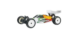 Team Durango DEX210F Front-Motor 1/10 2wd Buggy Kit for High-Bite Conditions