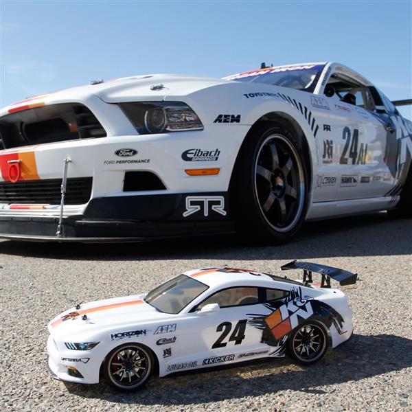 Vaterra Adds Bradley Morris K&N Replica Mustang Drifter to V100-S Lineup [VIDEO]
