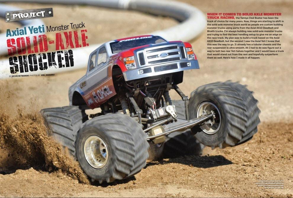 Yeti Monster Truck