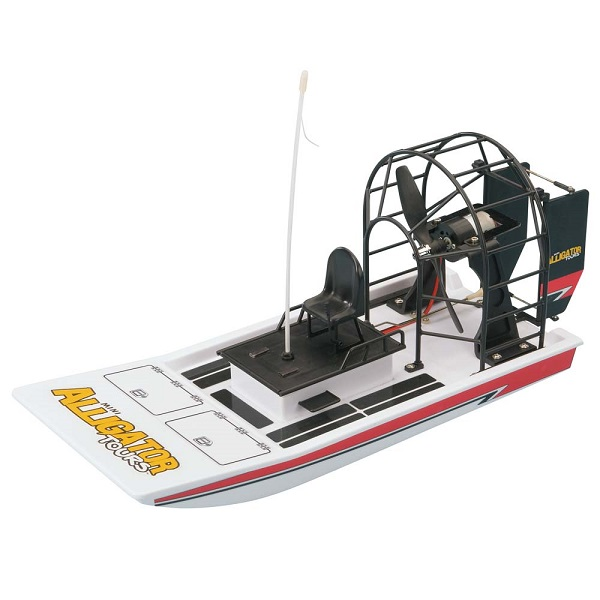 AquaCraft RTR Mini Alligator Tours Airboat Updated With Tactic TTX300 2.4GHz Radio System (1)