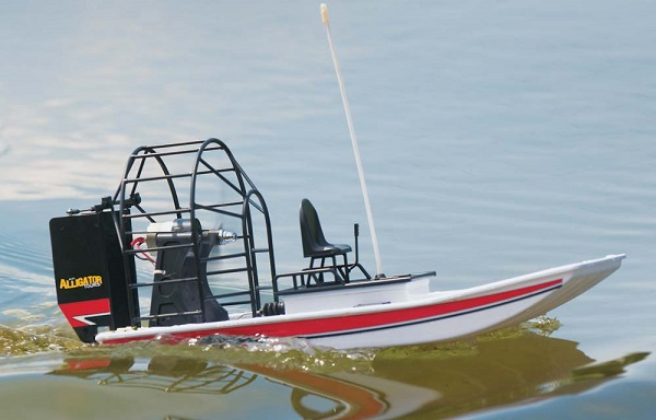 AquaCraft RTR Mini Alligator Tours Airboat Updated With Tactic TTX300 2.4GHz Radio System (2)