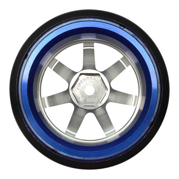 FireBrand RC DEF STAR-D2M Aluminum Drift Wheels side profile