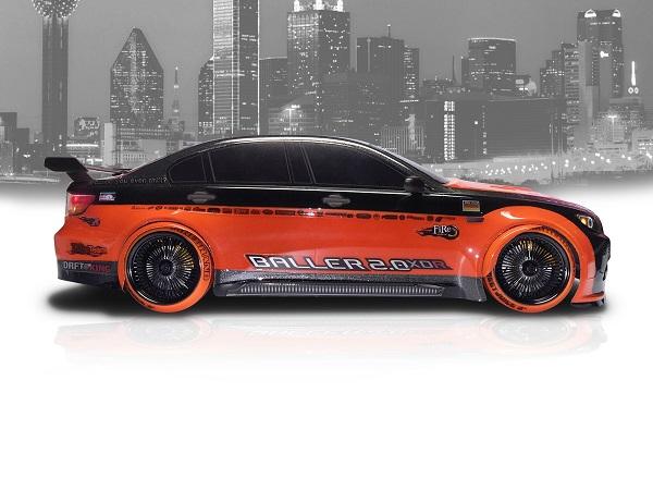 FireBrand RC OG-XDR 3˚ Wheel And Tire Set (4)