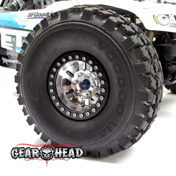 Gear Head RC 2.2 RubiComp Beadlock Wheels (4)