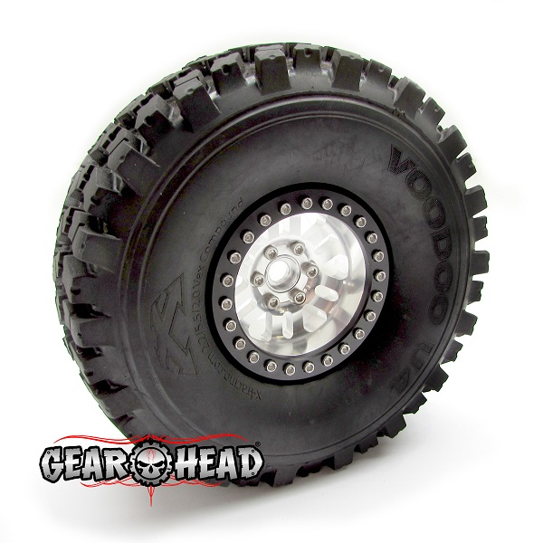 Gear Head RC 2.2 RubiComp Beadlock Wheels (5)