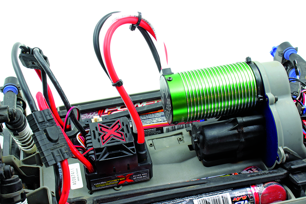 Castle Creations Mamba Monster X 2200Kx brushless power system