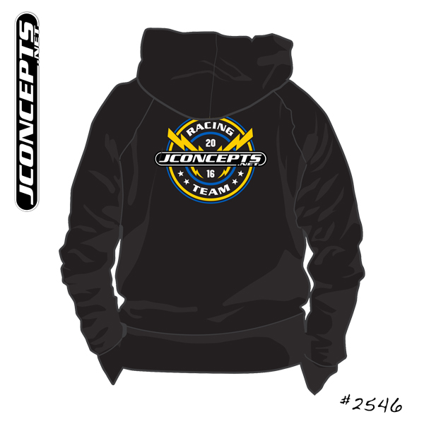 JConcepts Lightning Bolt 2016 Team Shirt And Sweatshirt (2)