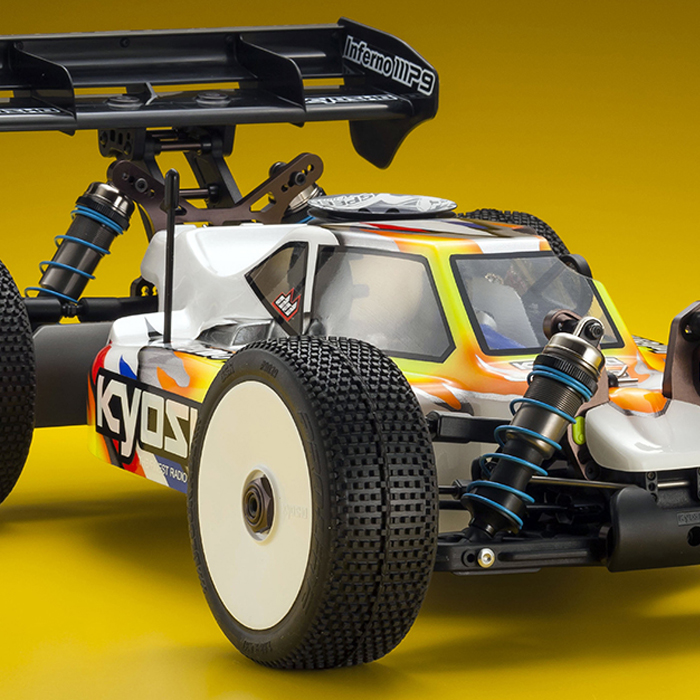 UPDATED: Kyosho Inferno MP9 TKI4, BODY OFF, FULL DETAILS